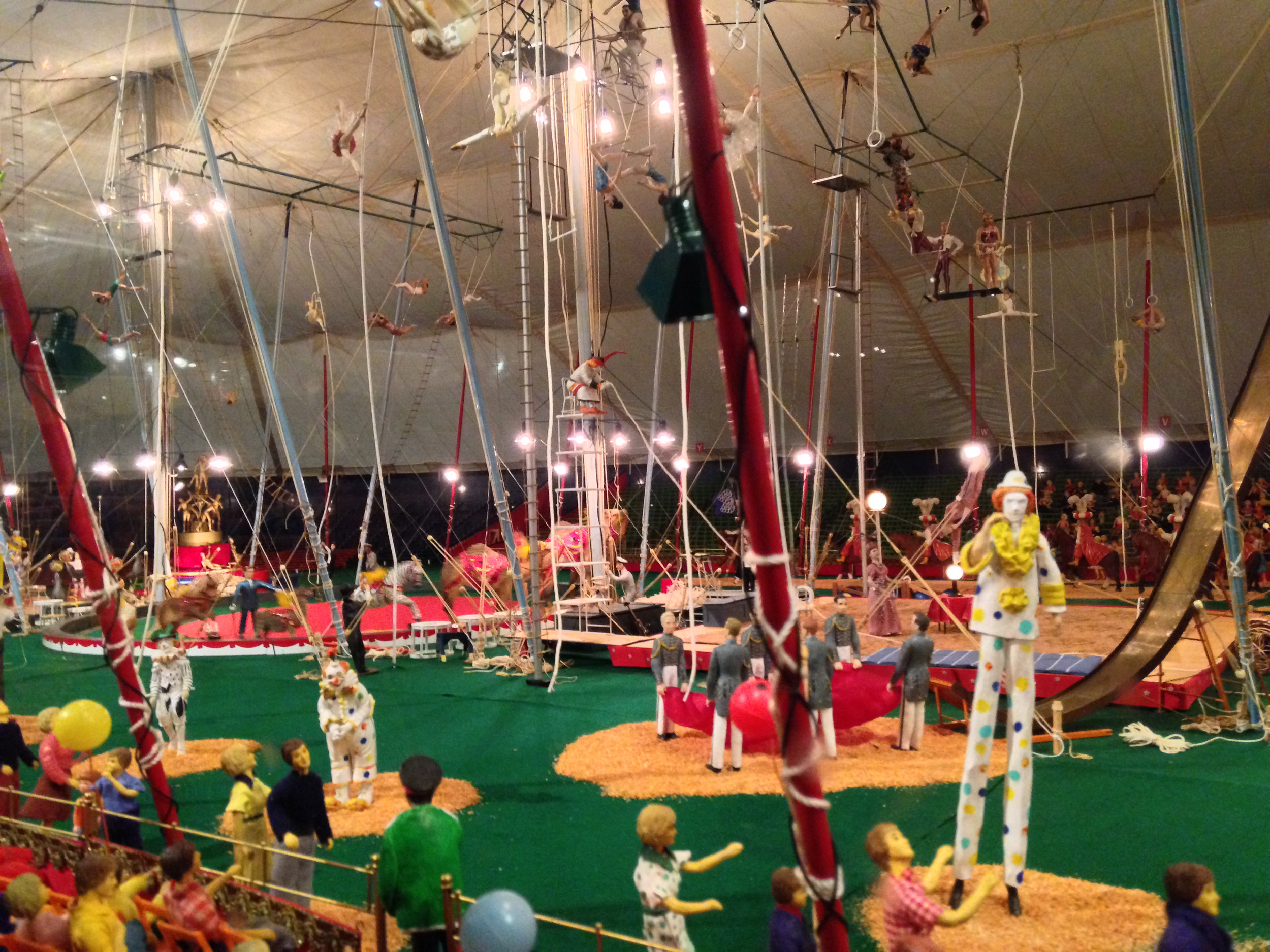 Detail,Under the Big Top, Worlds Largest Circus Model