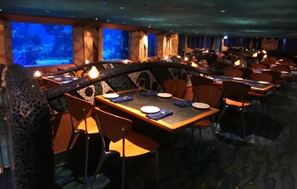 Coral Reef Restaurant, Epcot, Walt Disney World, Orlando Florida