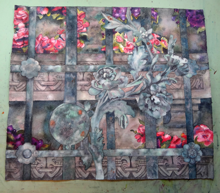 Work in Progress, Paris Passy Gate Watercolor