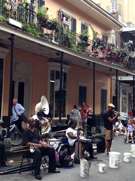 Nothing better than this! Jazz in the French Quarter!