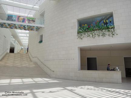 Main Lobby of the Jepson Center