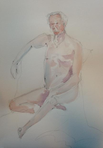Twenty Minute Watercolor Sketch from Life