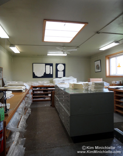 Sales Room at Twinrocker Paper
