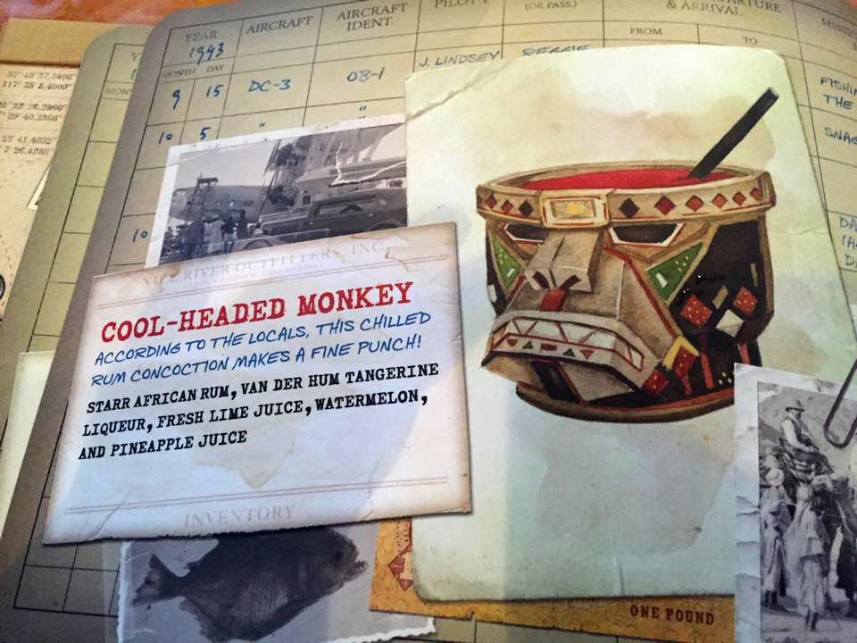 The Cool Headed Monkey: My illustrations in the menu photo credit  Steve Fox, Inside the Magic .