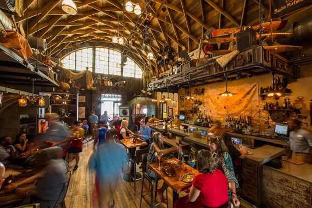 Jock Lindsey's Hangar Bar at Disney Springs, photo credit  Disney Parks Blog
