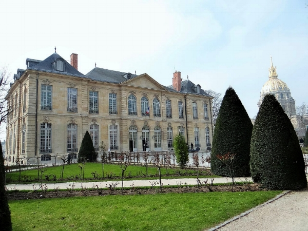 """Hotel Biron, Musée Rodin, Original Planned Location for an Annex for Monet's """"Grande Décoration"""" His Donation to the State of France_ Photo: Wikimedia Commons"""