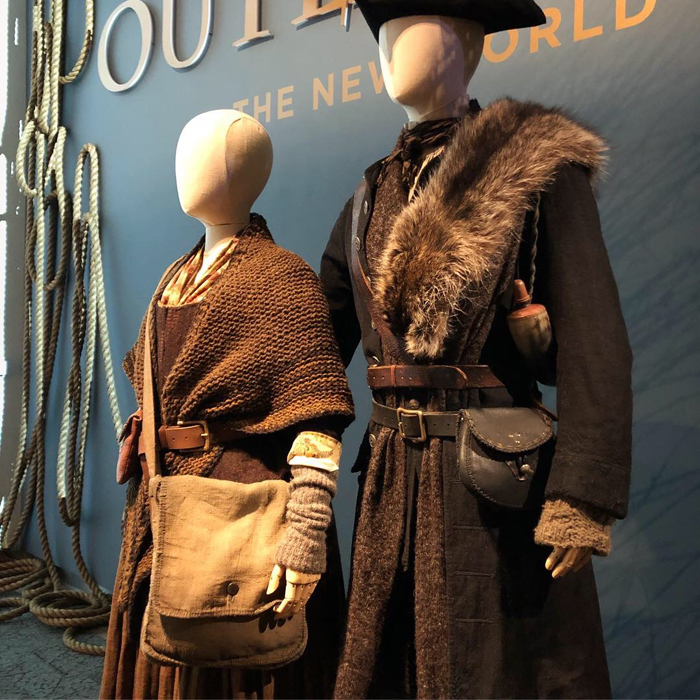 Costumes for Claire and Jamie Fraser