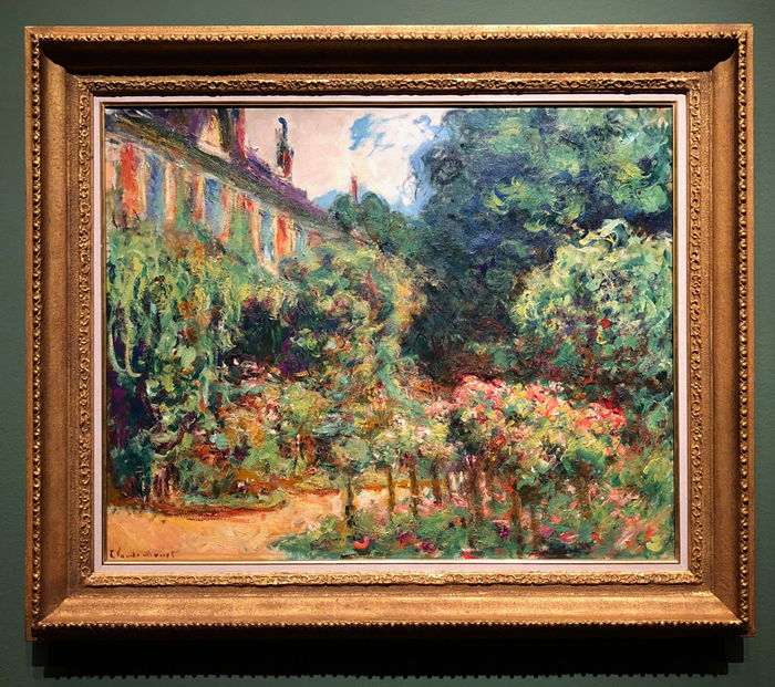 The Artist's House at Giverny 1912-1913