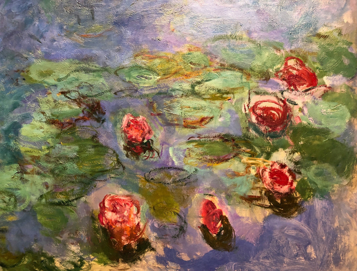 Water Lilies 1914 1917, Detail