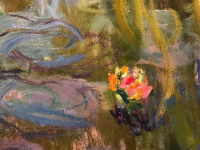 Water Lilies 1914, 1915, Detail