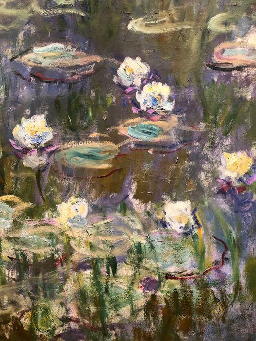 Water Lilies 1921, 1022?, Detail