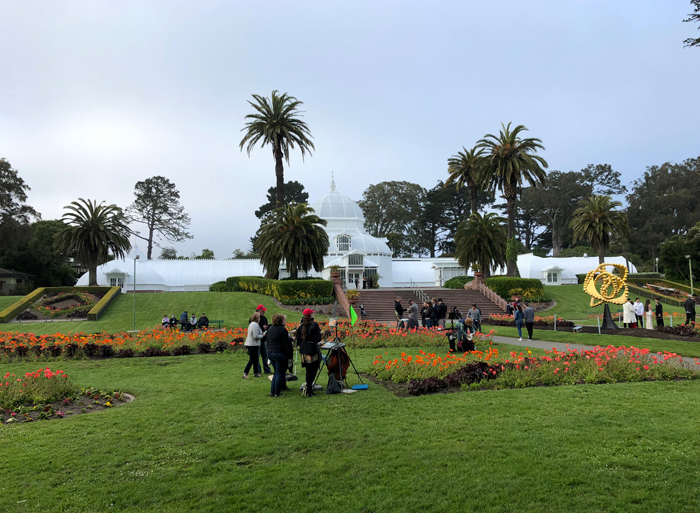 The Conservatory of Flowers at The Golden Gate Park
