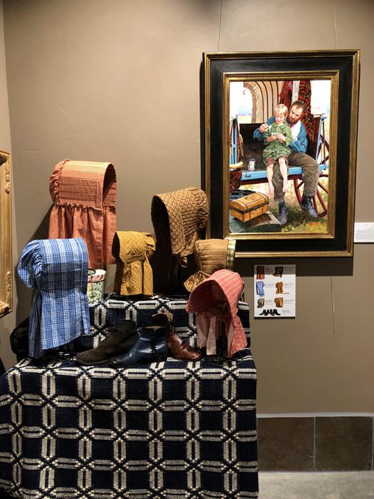 Heide Presse's Special Exhibit, We Set Our Faces Westward…One Woman's Journey 1839-1848