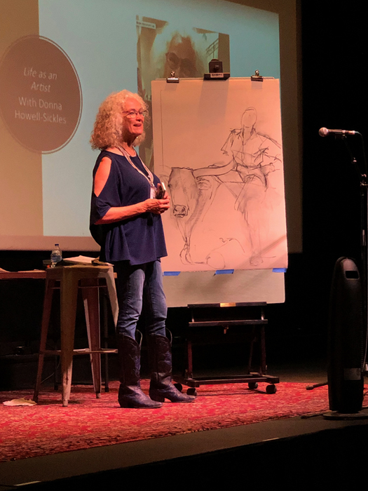 Donna Howell-Sickles Demonstration