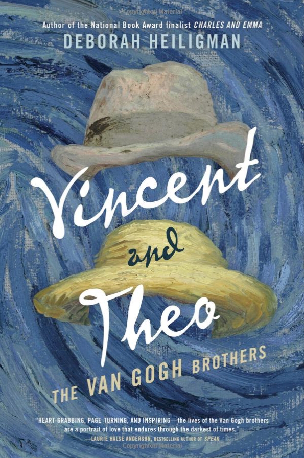Vincent and Theo, The Van Gogh Broghers by Deborah Heiligman, photo from Amazon.com