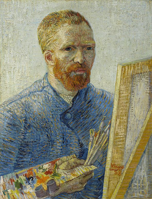 Self Portrait, 1888, photo Wikimedia Commons, by the Van Gogh Museum