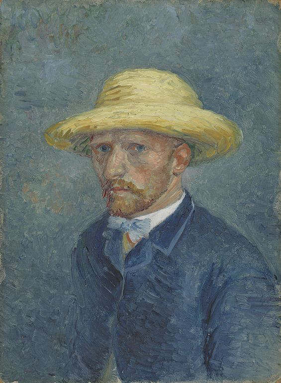 Portrait of Theo Van Gogh, by Vincent Van Gogh, 1887, photo Wikimedia Commons, collection Van Gogh Museum