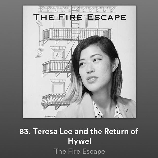 New episode of @fireescapepod is live! Hywel returns in bodily form and @colterlevi and @buttermilk_pete have a nice sit down with stand up, writer, actor and host of @tellmeanythingpod, @leresatee!!! Listen, like, subscribe, review, etc.