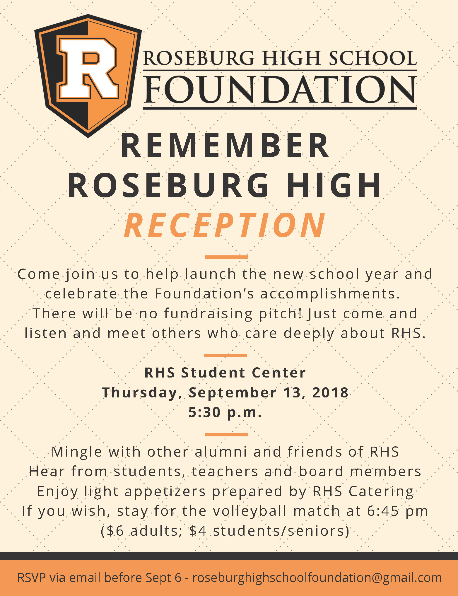RHS Foundation Kickoff Reception