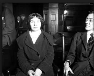 """""""Moonshine Mary"""" Wazeniak. — Chicago Tribune historical photo"""