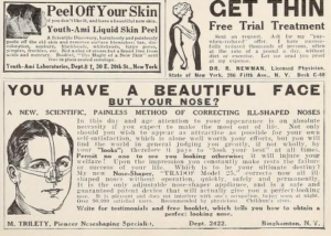 Advertisements from  Picture-Play , August 1925, 119.