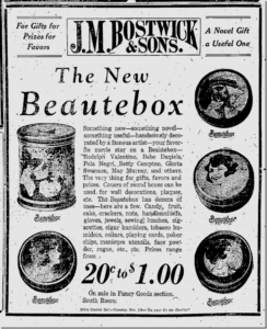 Featured in the  Janesville Daily Gazette on November 21, 1922.
