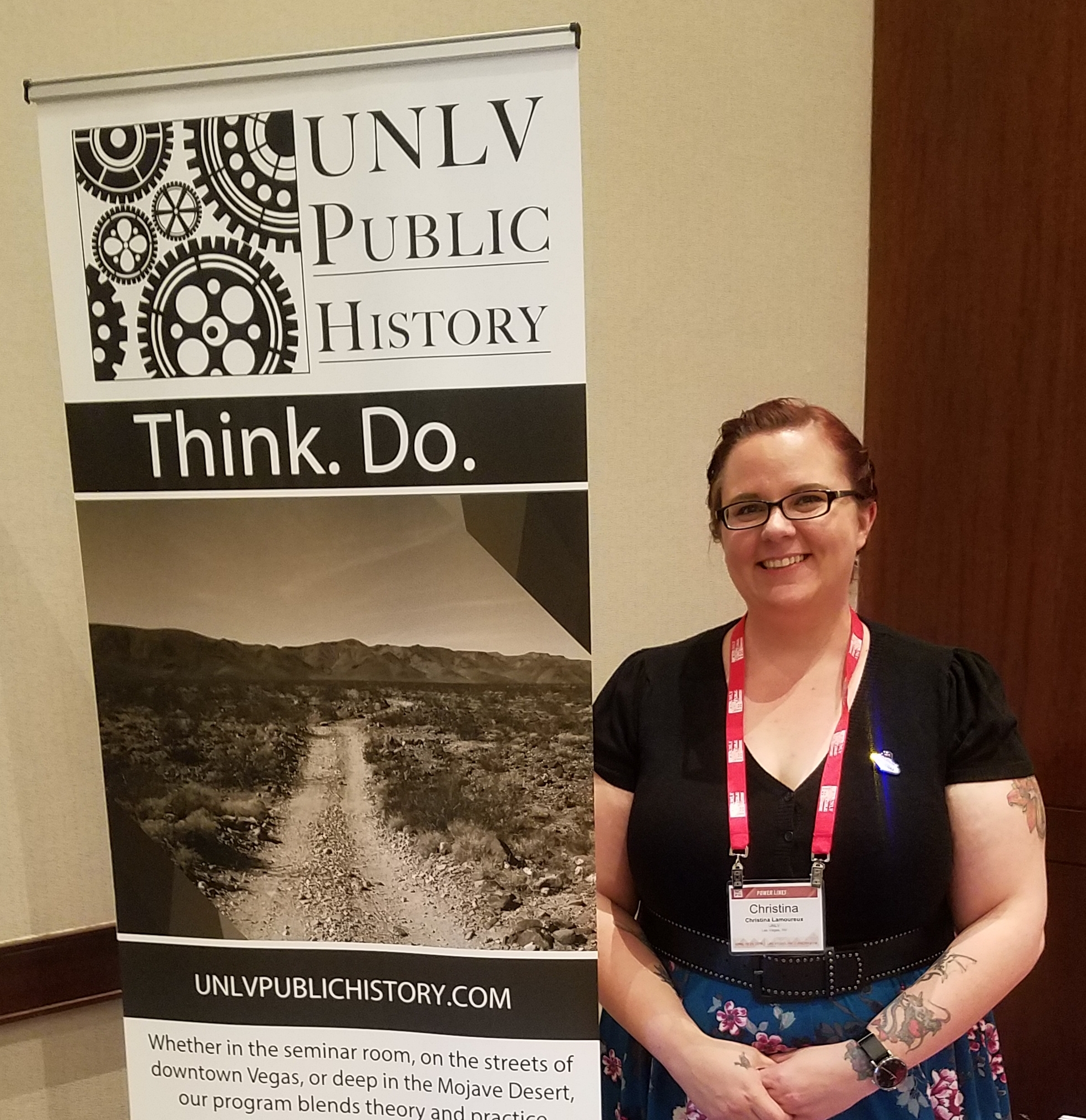 Proudly representing UNLV at the NCPH 2018 Annual Meeting in Las Vegas, NV.