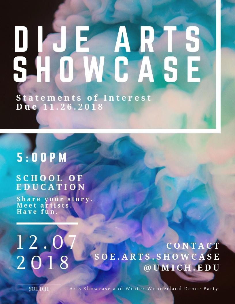 Arts Showcase 2018