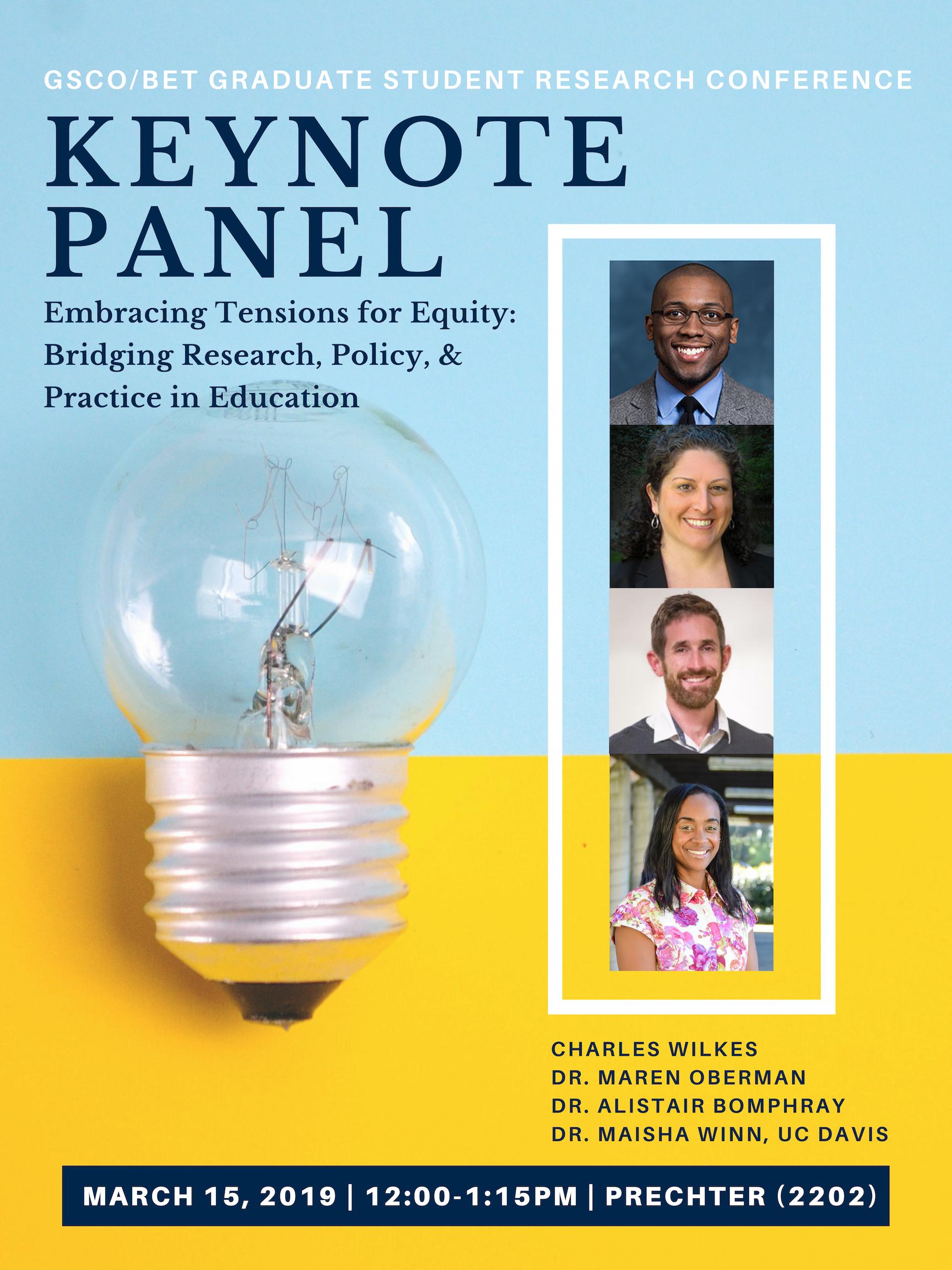 GSRC Keynote Panel
