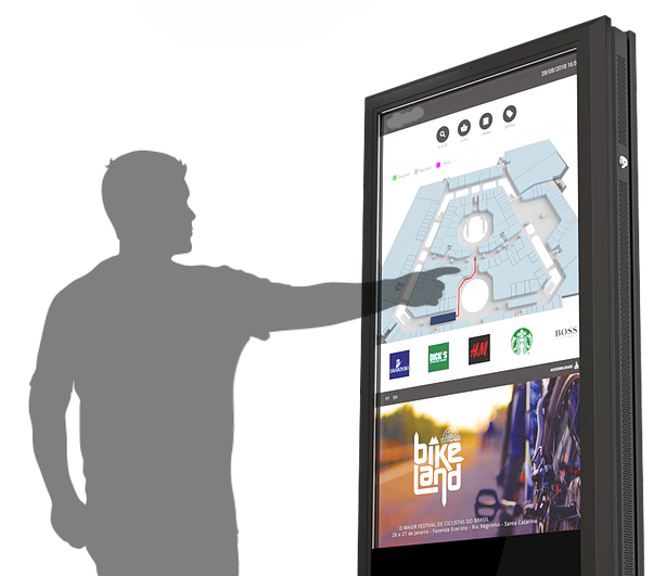 Brazilian Tech Company: Medical Imaging, Retail, Collaborative Work Systems - High-tech Brazilian multi-touch large format interactive display manufacturer with applications in retail, medical imaging and collaborative workspace seeking US Partner with established channels in healthcare and retail.