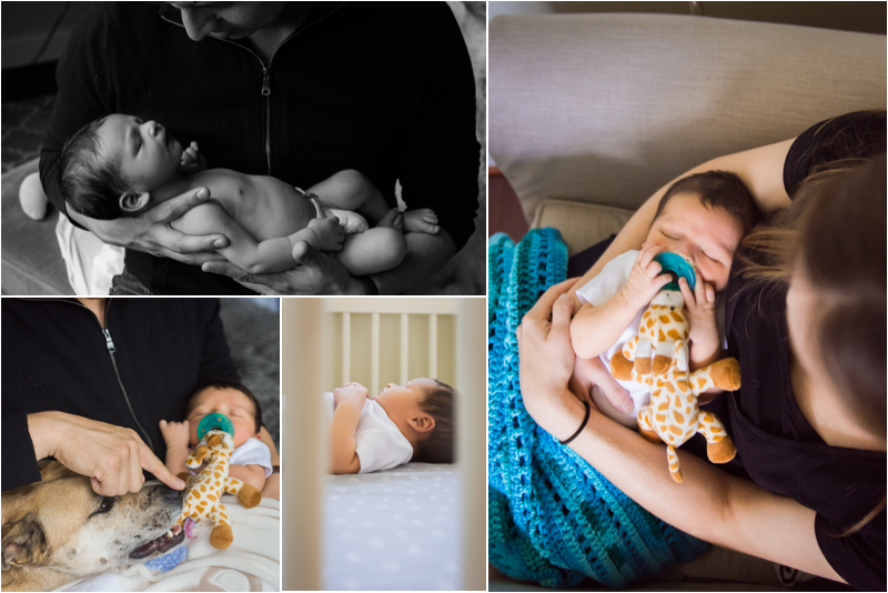 DC In Home Newborn Session