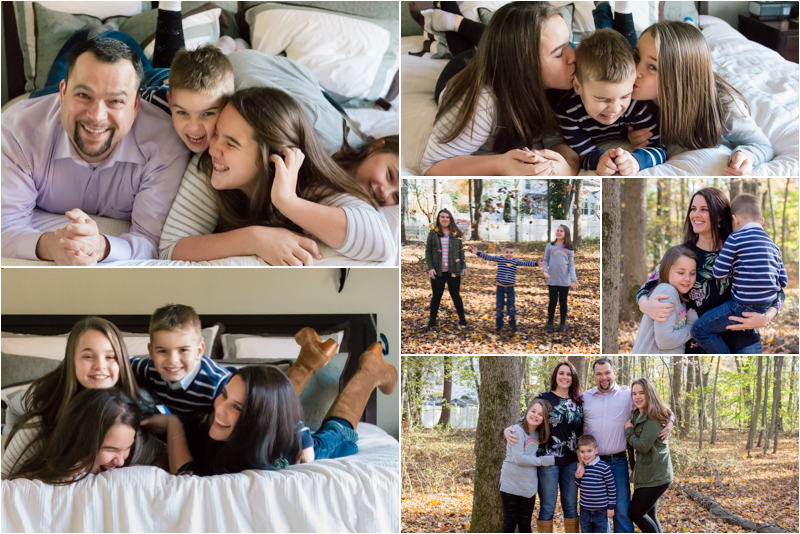 An In Home Lifestyle Session in Gambrills, Maryland