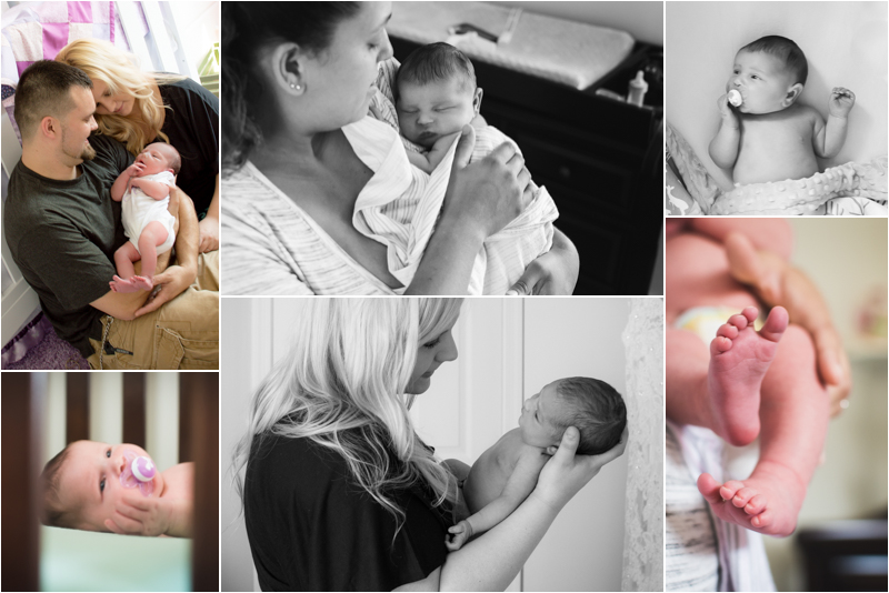 Two Southern Maryland In Home Lifestyle Newborn Sessions