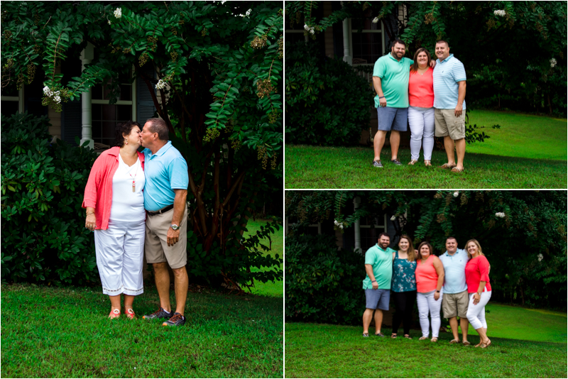 in home family photo southern Maryland