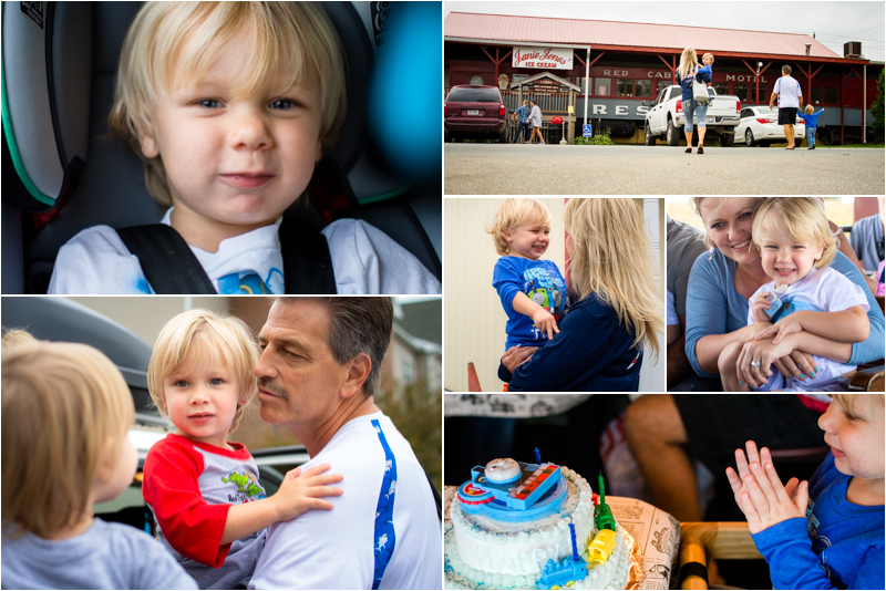 We just celebrated Noah's 3rd Birthday in Strasburg, PA at a Day Out with Thomas!
