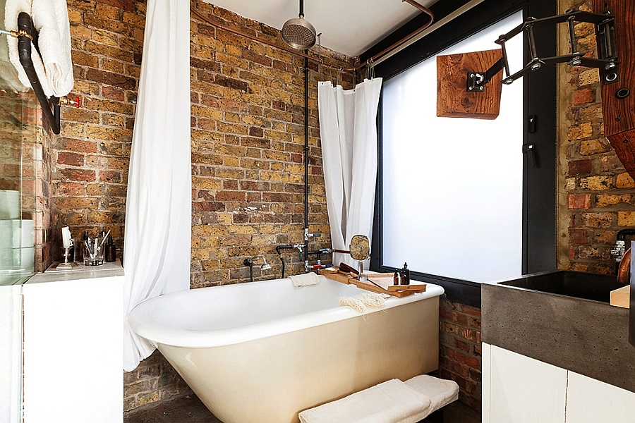 Source: Decoist.com - Innovative bathroom with glass walls in small London apartment [Design: Michaelis Boyd Associates]