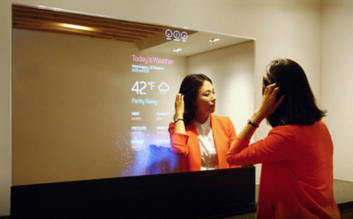 Vanity Mirror with technology