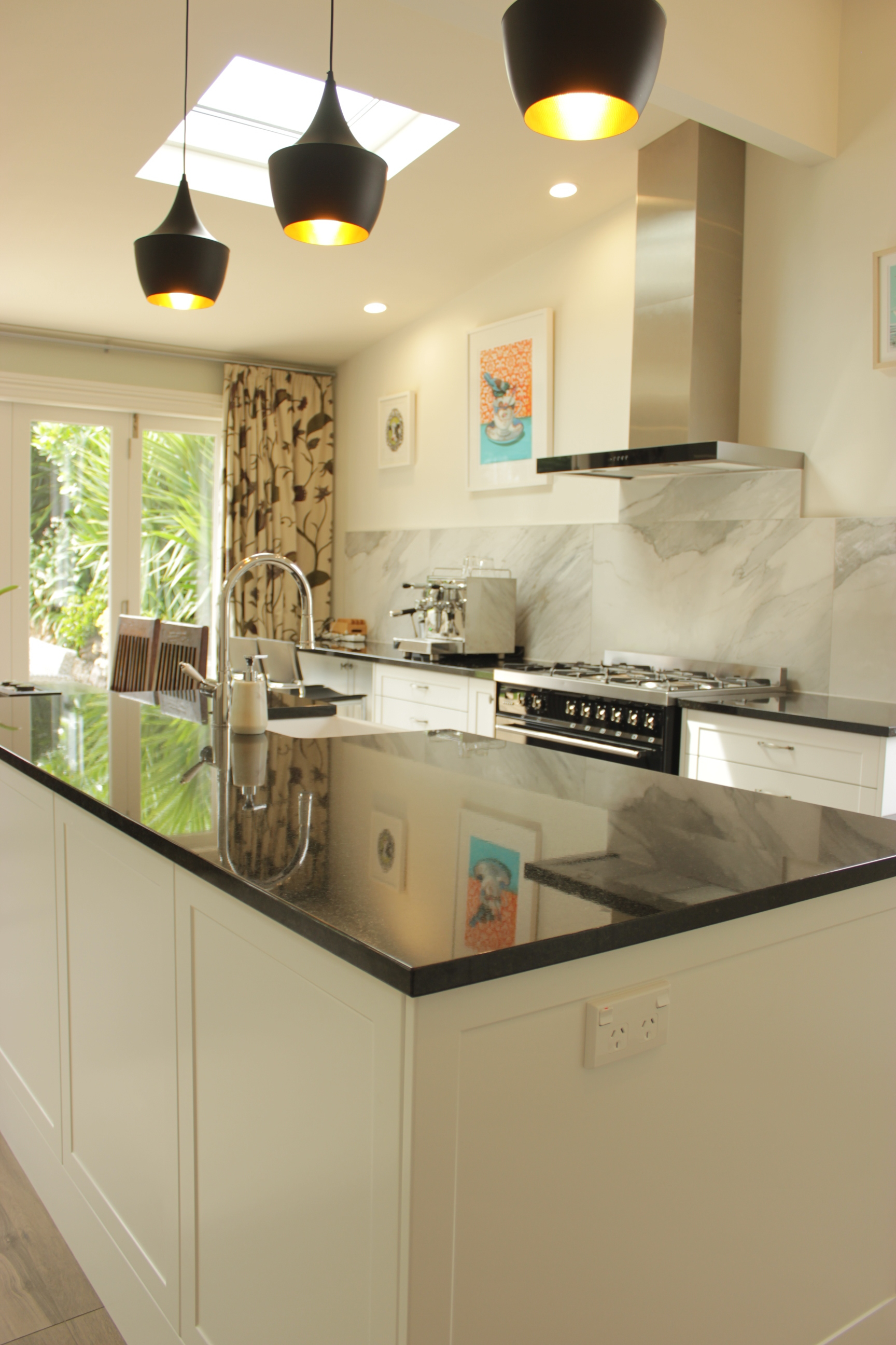 KITCHEN RENOVATION  Features:Custom Cabinetry, Engineered Stone Workbench, Sunken Sink, Fitted Splashback