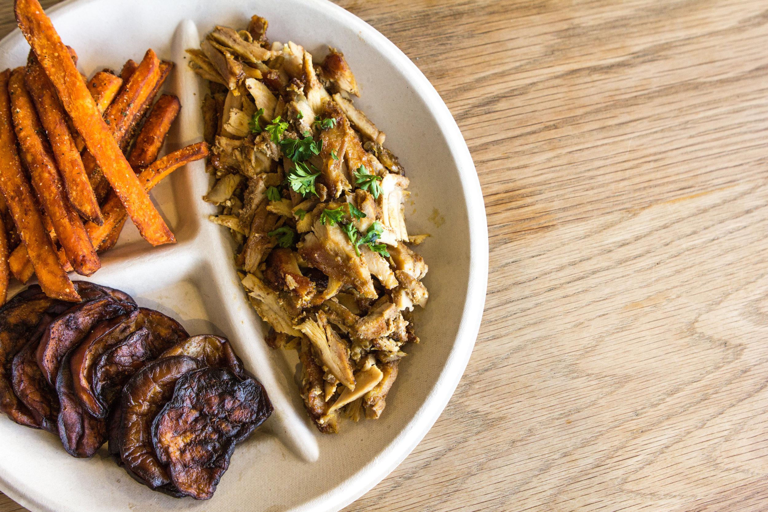 ChickenShawarma+Eggplant+SweetPotatoFries2.jpg