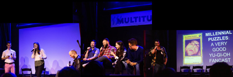 Stills from Multitude Live in Seattle (Jan. 2019)