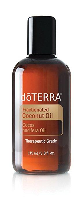 doterra fractionated coconut oil bottle