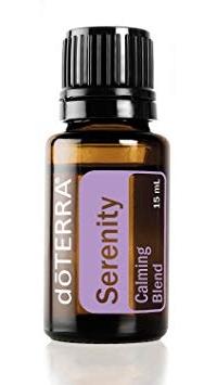 doterra serenity calming blend essential oil bottle