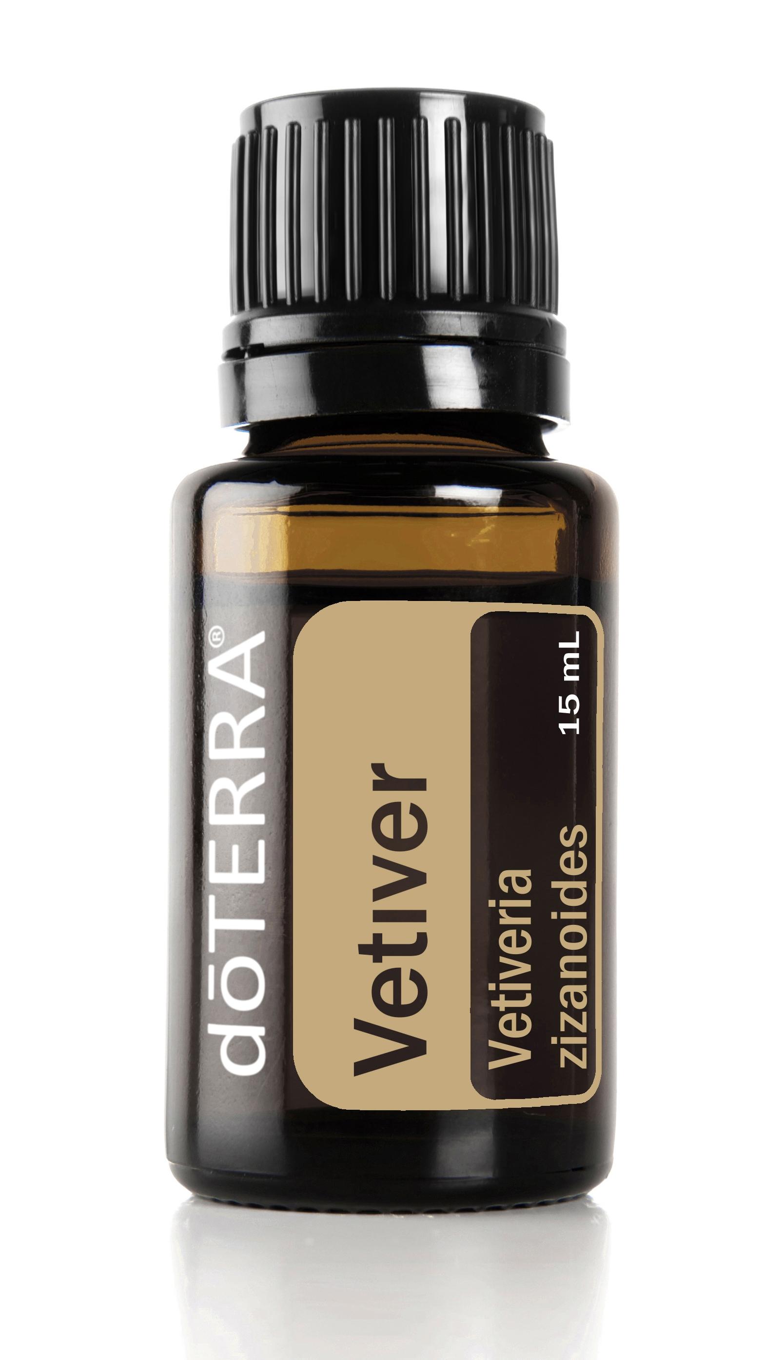 doterra vetiver essential oil bottle