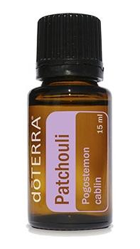 doterra patchouli essential oil bottle