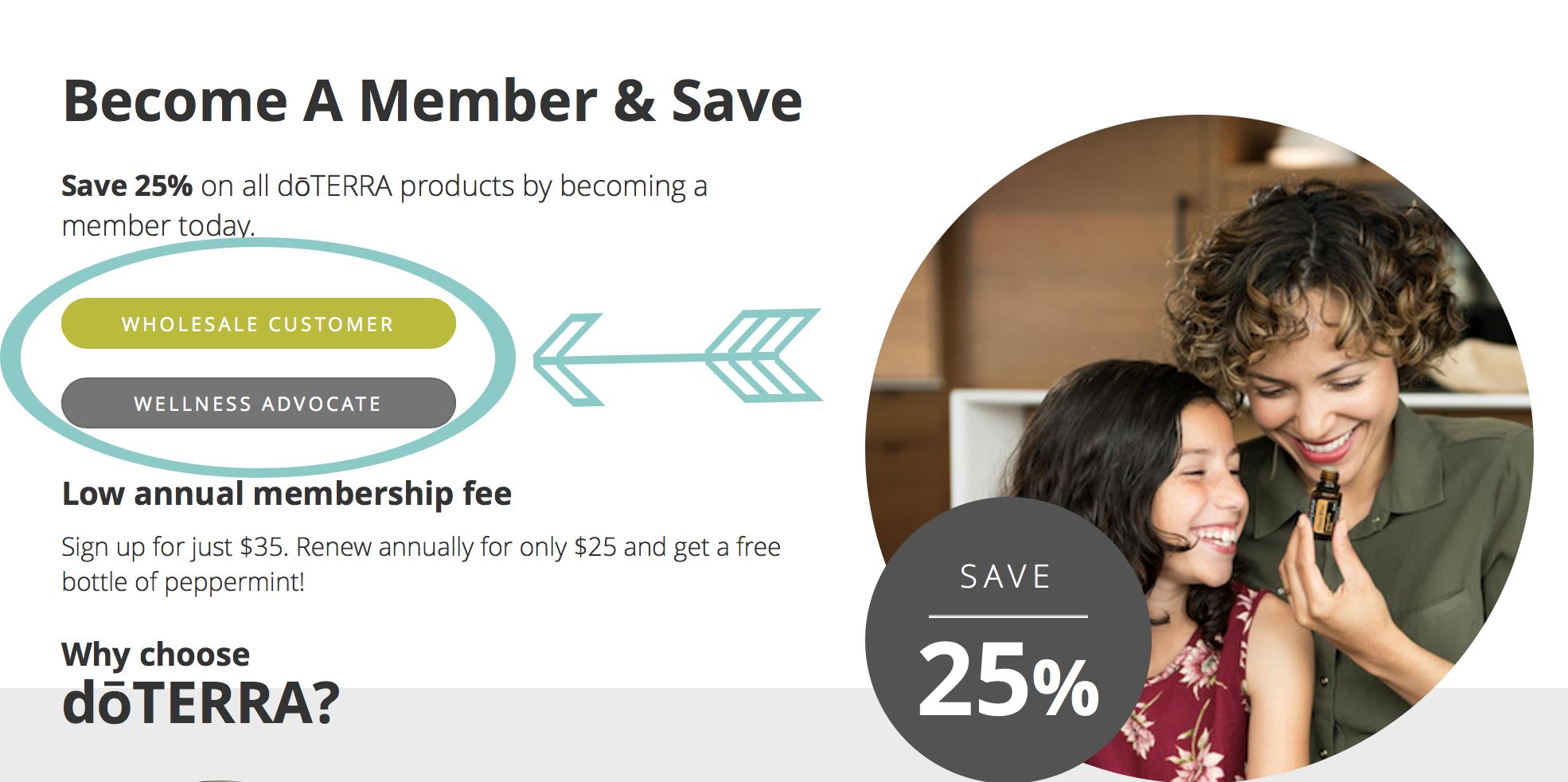 doterra membership