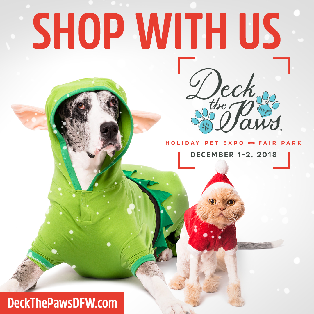 Tickets available at  www.DeckThePawsDFW.com