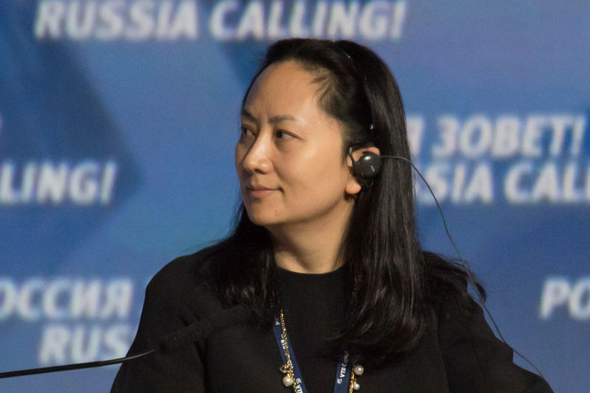 Meng Wanzhou in 2014. (Reuters/Stringer)