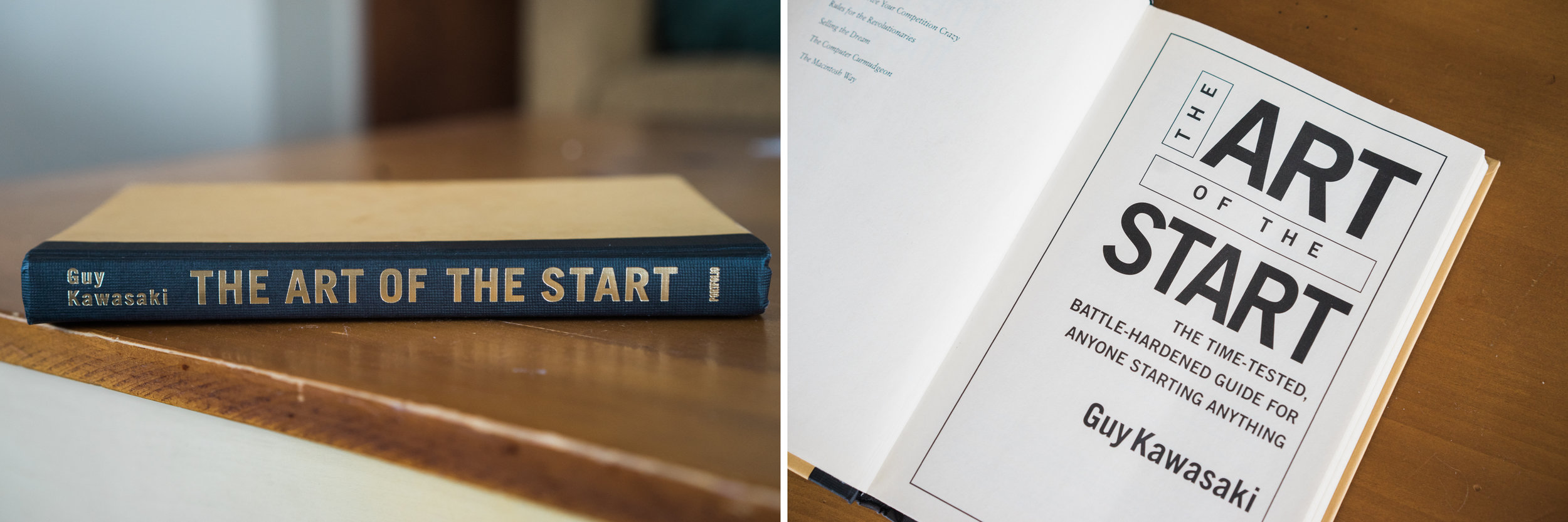 Image shows book The Art of the Start