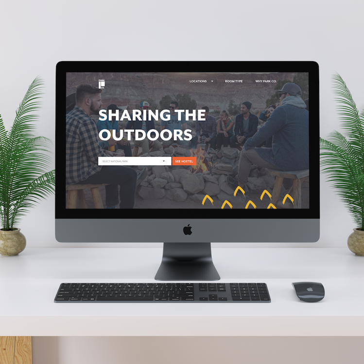 Park Co. Hostels - BRAND STRATEGY & WEB DESIGN – Created a brand strategy and website that conveys a sense of community, excitement, and comfort in nature for a hostel chain owned by the National Park System.