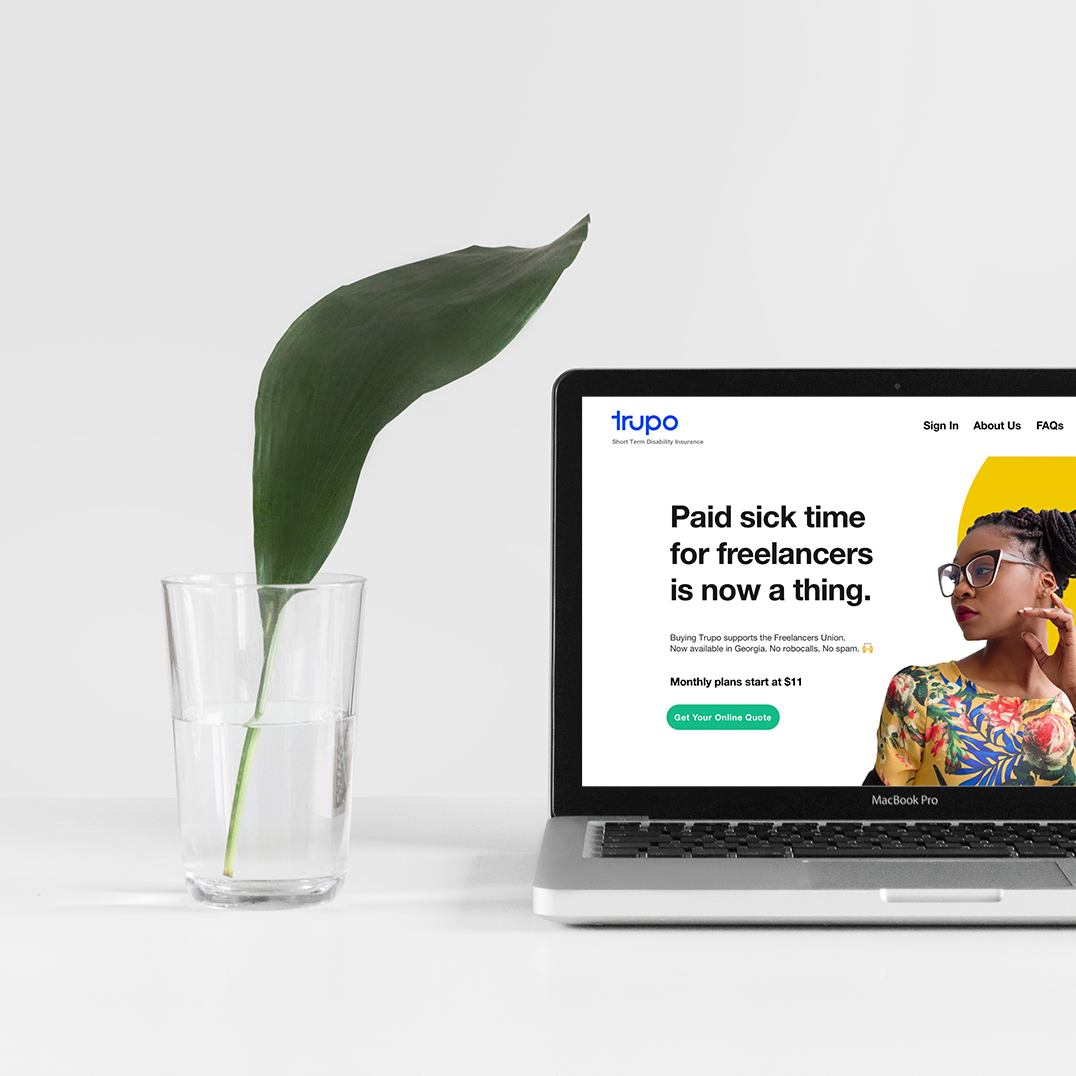 Freelancers Insurance - UI & DIGITAL DESIGN— Designing new sections on the website and creating new digital ads became necessary when we wanted to reposition the messaging and targeted audience to empowered freelancer women in Atlanta.